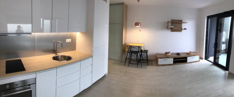 Prenájom novostavba 1 izbového bytu na Bajkalskej ulici, Národný