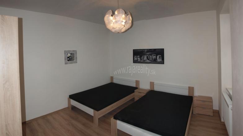 2 izbový zariadený byt