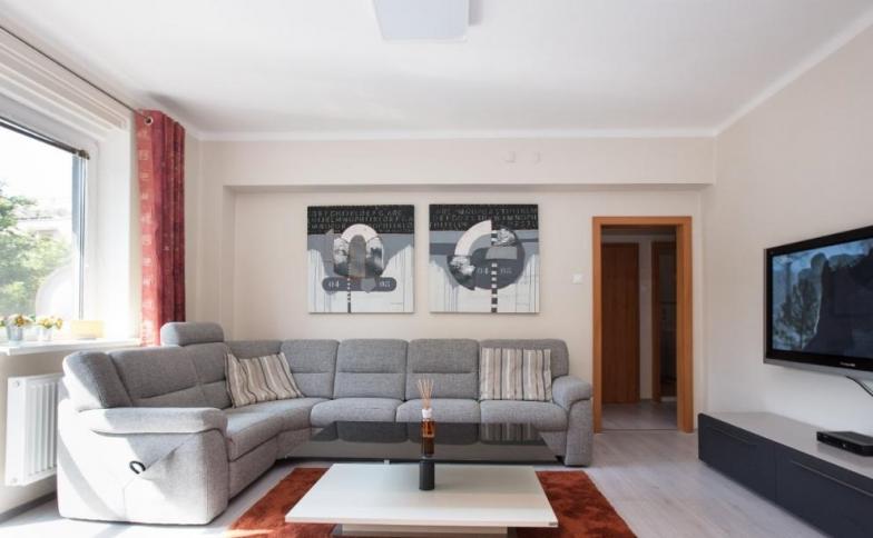 Prenájom zrekonštruovaného 2-izbového bytu v centre mesta na Krížnej ul.. - Rozloha 60 m