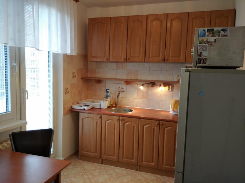 Prenájom 3 izbového bytu na J.C.Hronského pri Račianskom mýte. Byt má 70m2, Loggia, 3 poschodie