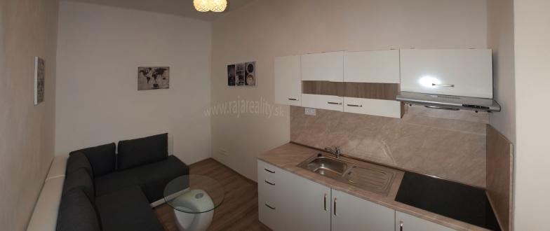 1 izbový zariadený byt